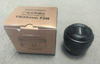 objetivo 35mm para Nikon