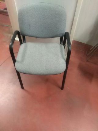 sillas oficina apilables