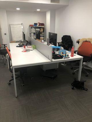 Mesas oficina con cajoneras