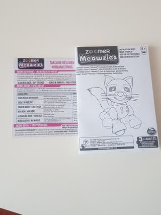 Gato interactivo Zoomer Meowzies