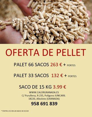 OFERTA DE PELLET!