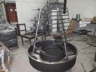 asador giratorio