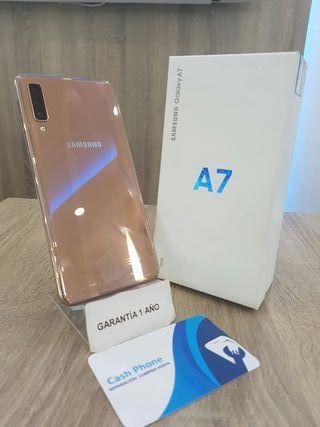 Samsung Galaxy A7 2018 64GB 4GB Ram Gold Ocasión