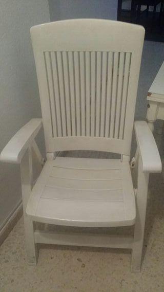 silla sillón terraza jardin