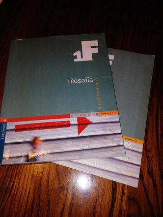 Libro y cuadernillo Filosofía 1F 1 bachillerato