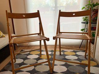 Set 2 sillas Ikea terje plegables