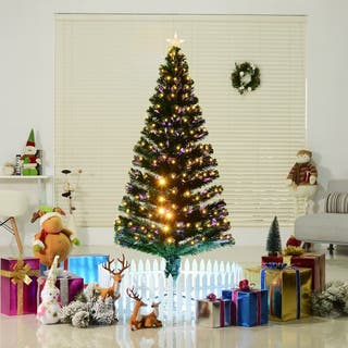 Árbol de Navidad grande 180cm de fibra óptica Arti