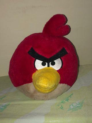 Peluche Angry Birds de Red (rojo)