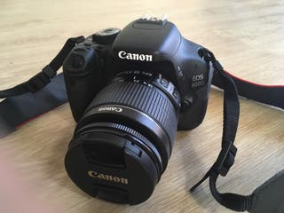 Canon 600D 18-55mm + 55-250mm