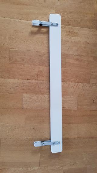 Barandilla cama VIKARE blanco de Ikea