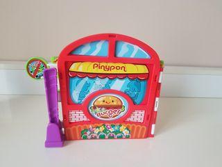 Hamburguesería burguer auto Pinypon