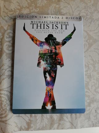 This is it Michael Jackson Dvd Edición limitada
