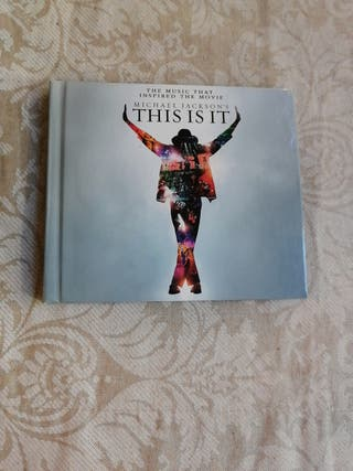 Cd This is it Michael Jackson