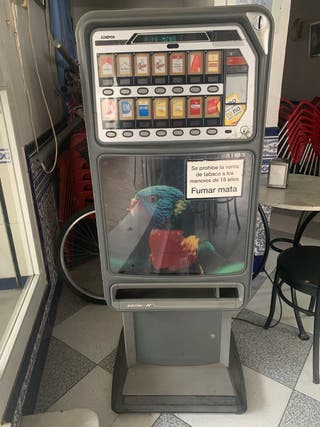 Máquina expendedora tabaco Azkoyen 12 carriles