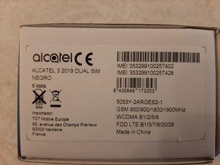 Móvil alcatel3 2019 dual SIM Negro Nuevo sin abrir