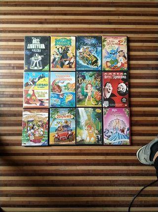 Películas Disney DVD perfecto estado 3€
