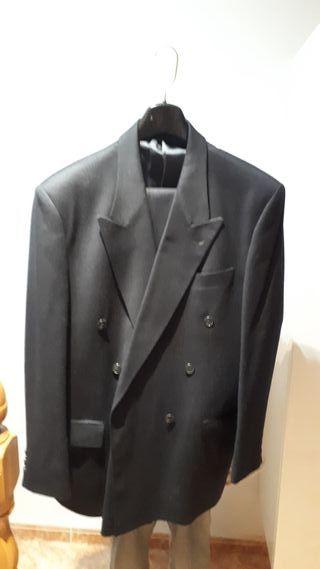Traje de chaqueta de hombre, pura lana virgen