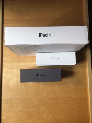 Caja IPhone 6 y IPad Air