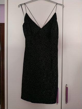 Vestido de fiesta corto negro