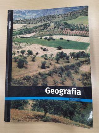 Libro Geografia Edebé Segundo de Bachillerato