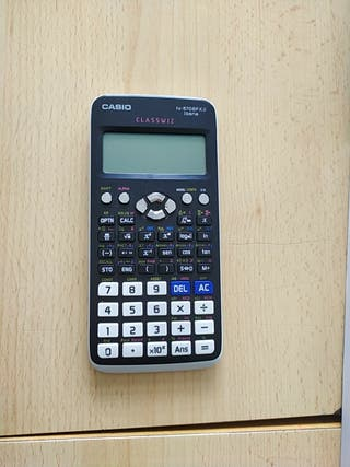 Calculadora Casio classwiz blanca