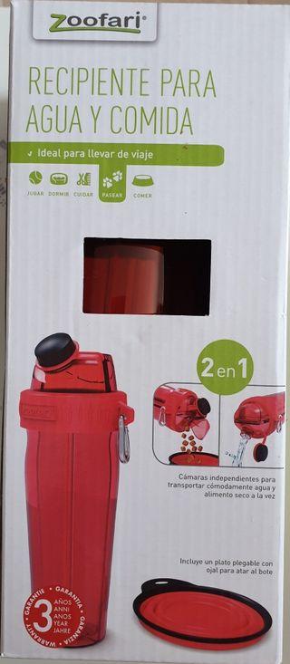 recipiente para comida y agua NUEVO