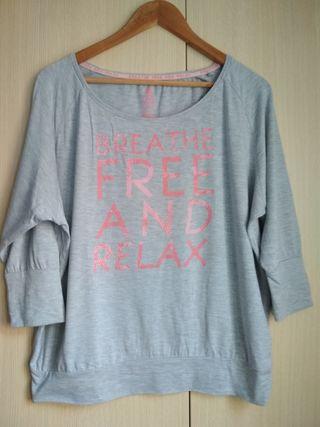 Camiseta gris Crivit Talla M
