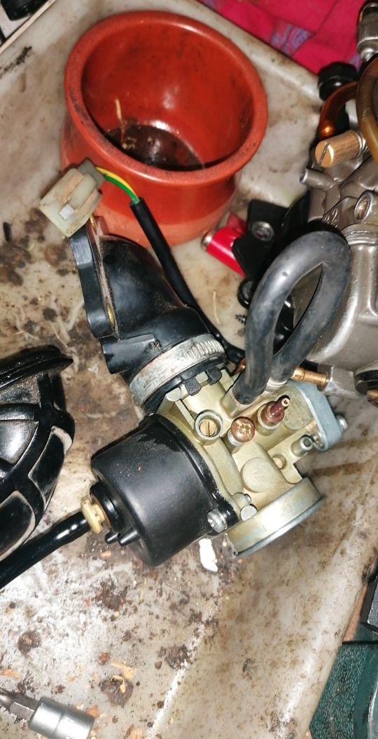 carburador y tobera 12 de origen de yamaha jog rr