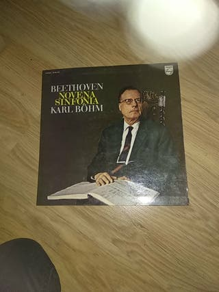 Vinilo Novena Sinfonía Karl Bohm