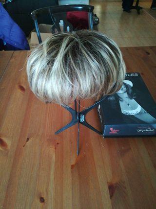 mechón de peluca