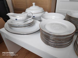 Vajillas Porcelana Royal Kent 57 piezas