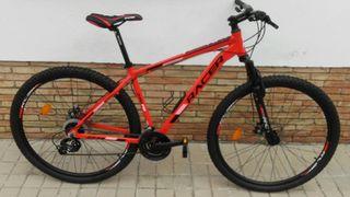"""Bicicleta MTB 29"""" Nueva, Racer FD talla L"""