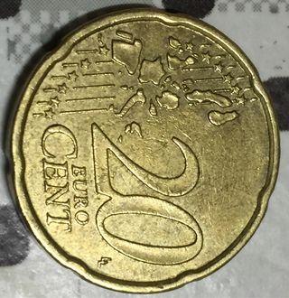 Moneda de 20 centimos