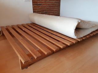 Futon cama sofá de matrimonio