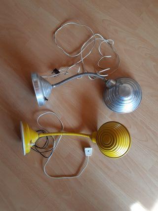 Lámpara flexo vintage de mesa