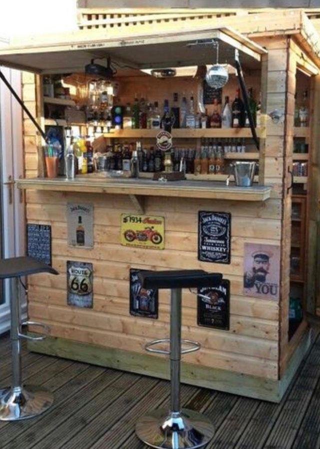 Chiringuito caseta bar jardín/playa