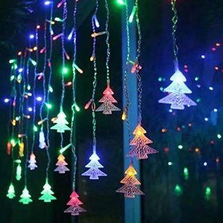 Cortina de Luces LED Guirnaldas luminosas,