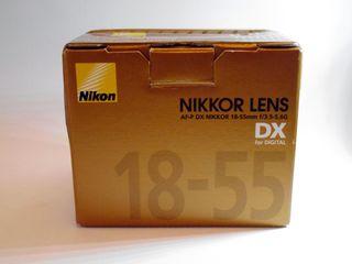 Objetivo Nikon Nikkor AF-P DX NIKKOR 18-55mm G