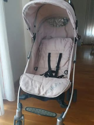 Silla ligera Carro bebé Icco Pluto beige
