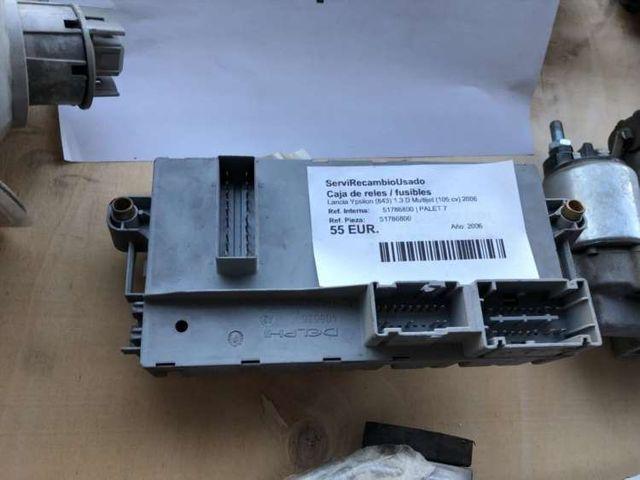 Caja de reles / fusibles 51786800 Lancia Ypsilon (
