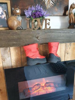 botas de invierno /nieve