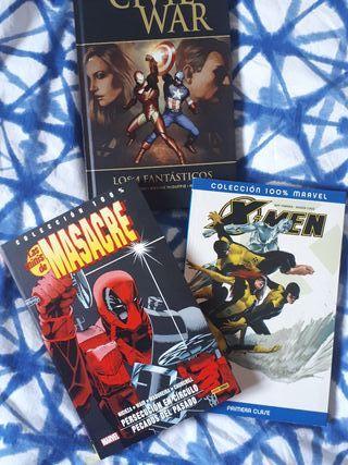 3 Comics 100% Marvel