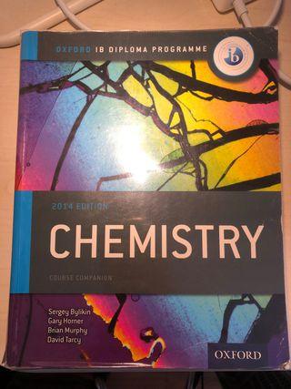 Libro Chemistry nuevo Bachillerato Internacional