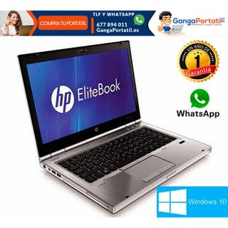 "Portátil Hp EliteBook 8560p, 15""/ i5 / 500Gb / Win"