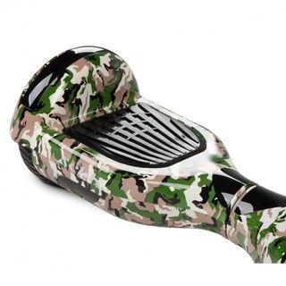 Hoverboard camuflaje verde, marron,azul 6,5¨