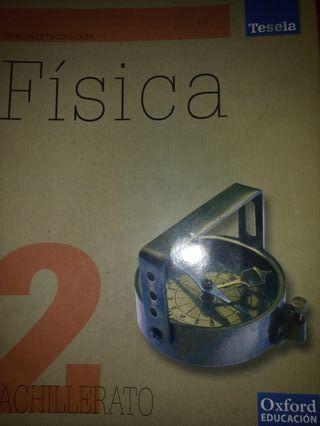 vendo libro fisica 2 bachiller oxford