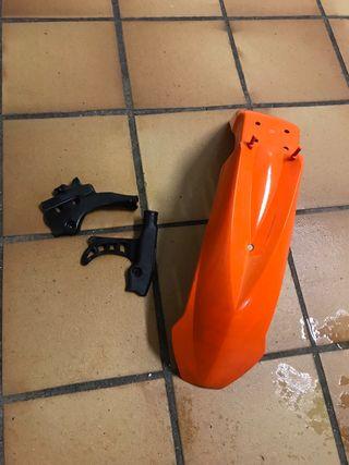 Guardabarros KTM + protectores chasis