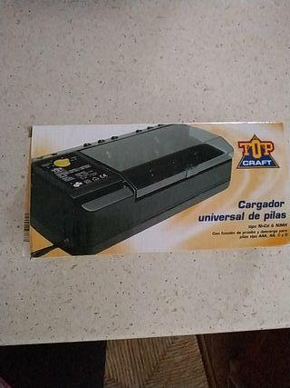 cargador universal de pilas