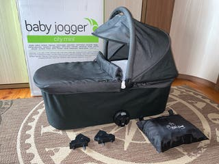 Capazo Deluxe Baby Jogger completo