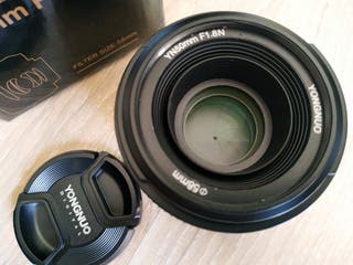 Objetivo 50mm F1.8 para Nikon